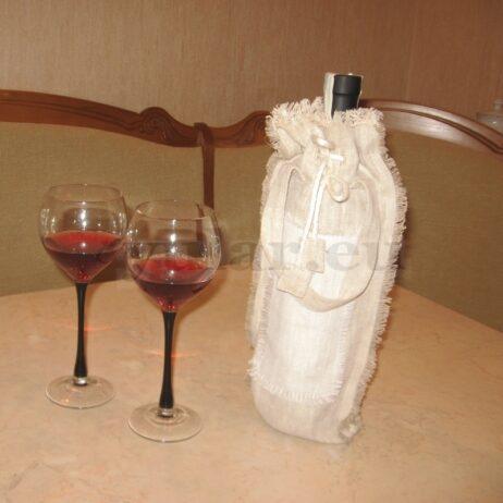 Geschenkverpackung für eine Flasche