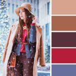15 совершенные сочетания цветов в одежде для зимы